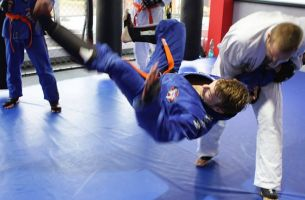 Brazilian Jiu-Jitsu in der World of Defense in Essen